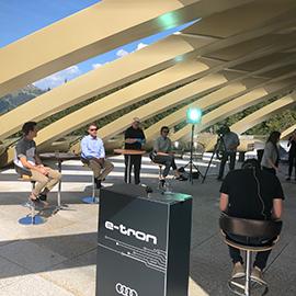 AUDI / e-talk Davos